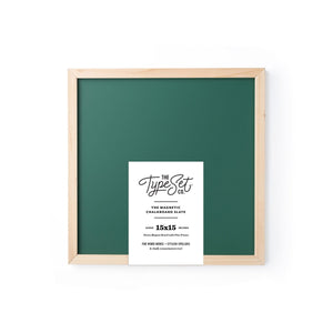 Type Set 15x15 Magnetic Letter Board