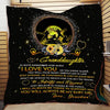 (QL575) LVL Softball quilt - Grandma to granddaughter - I love you