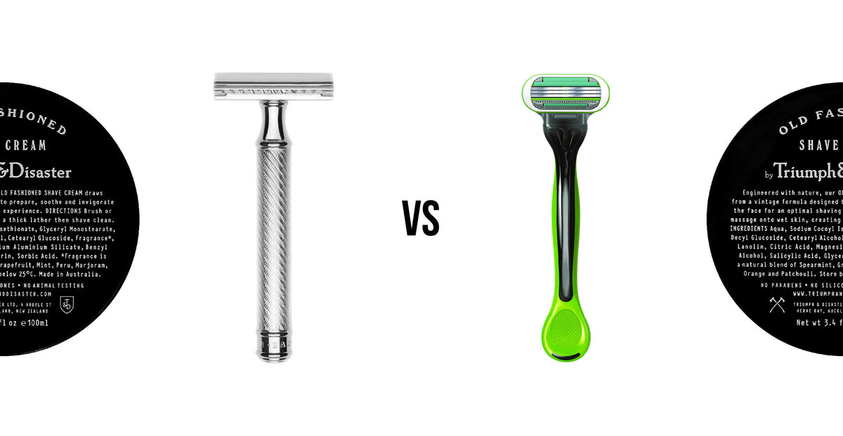 Safety Razors vs. Disposable Razors: How to shave like a true gent.