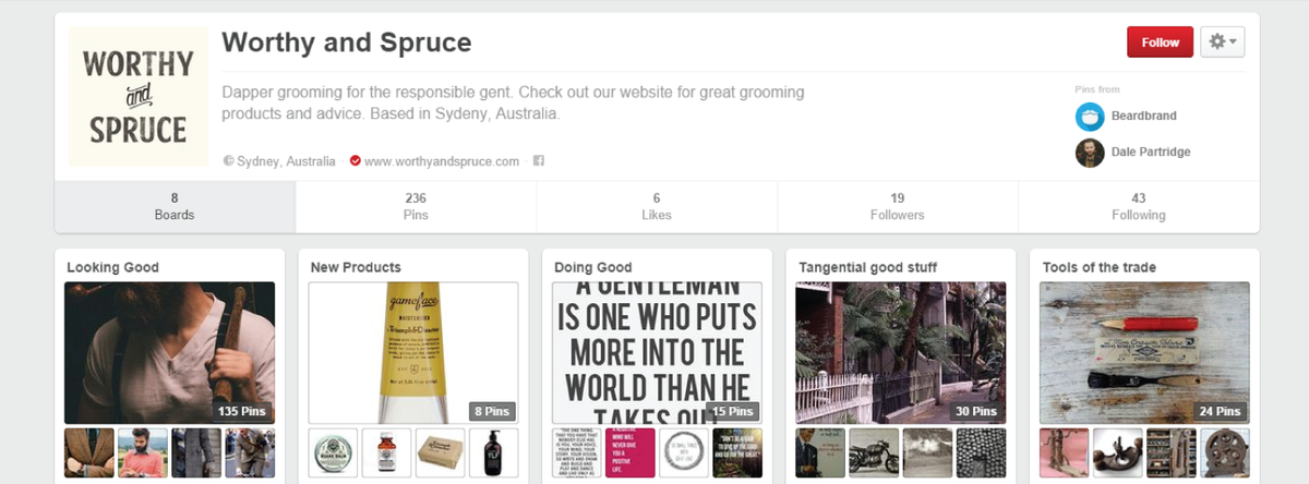 Best Pinterest boards for manly men