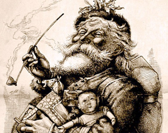 Thomas Nast depicition of Santa Claus 1881