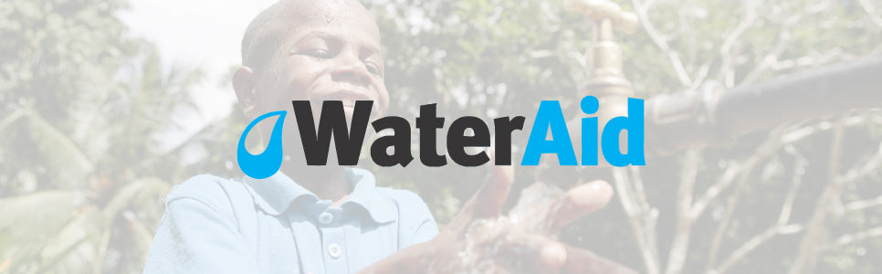 Worthy & Spruce are proud to support the excellent WaterAid