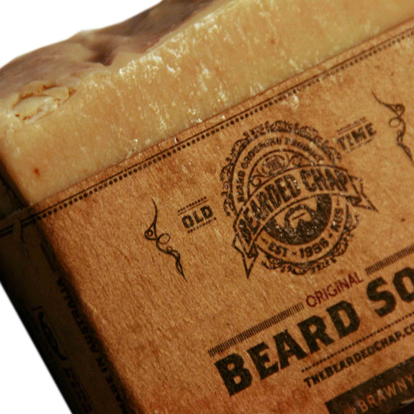Brawny Beard Soap, Beard Care, The Bearded Chap, Worthy and Spruce - 1