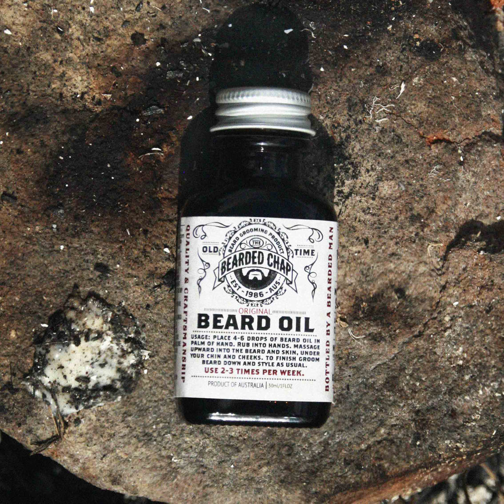 Original Beard Oil, Beard Care, The Bearded Chap, Worthy and Spruce - 2