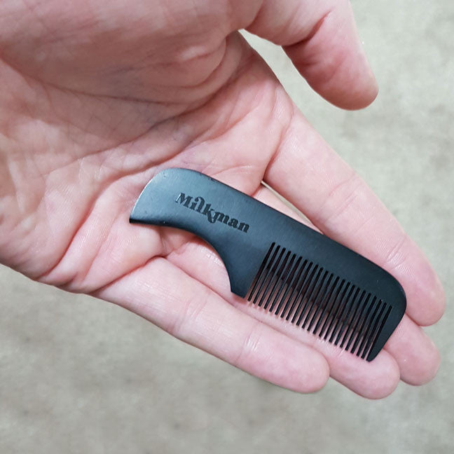 Mini Moustache Comb, Beard Care, Milkman Australia, Worthy and Spruce - 1