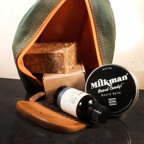 Essential Beard Care Tool Kit, Beard Care, Worthy & Spruce, Worthy and Spruce - 1