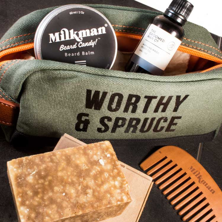 Essential Beard Care Tool Kit, Beard Care, Worthy & Spruce, Worthy and Spruce - 3