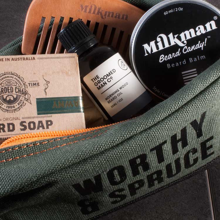 Essential Beard Care Tool Kit, Beard Care, Worthy & Spruce, Worthy and Spruce - 4