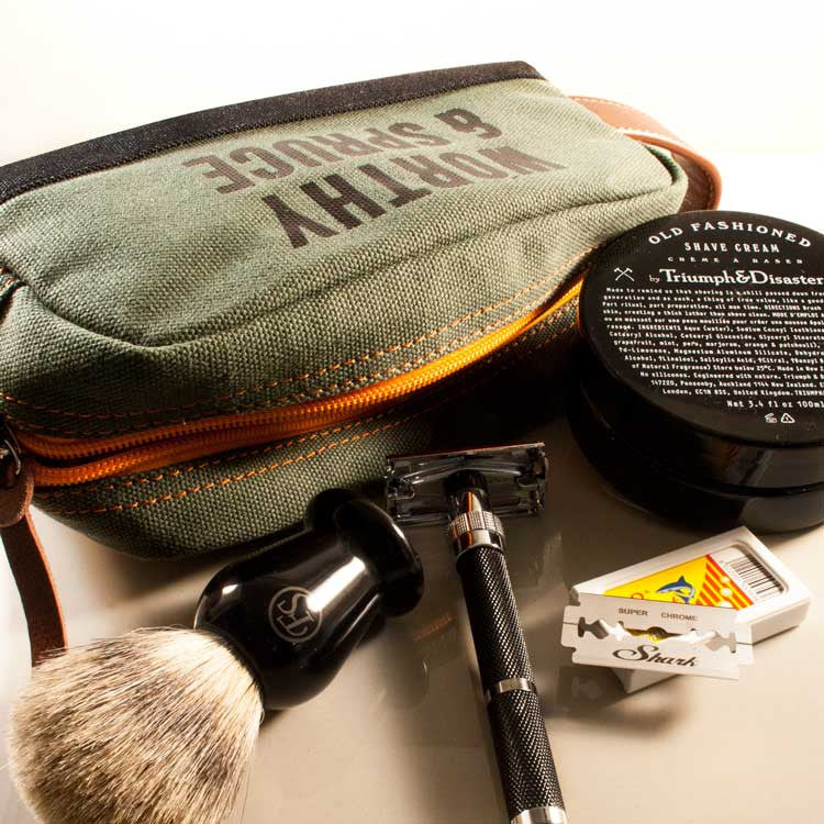 Essential Classic Shave Tool Kit, Shaving, Worthy & Spruce, Worthy and Spruce - 1