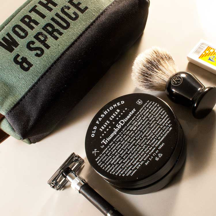 Essential Classic Shave Tool Kit, Shaving, Worthy & Spruce, Worthy and Spruce - 4
