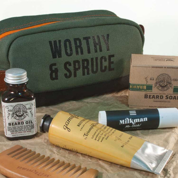 Ultimate Beard Care Tool Kit, Beard Care, Worthy & Spruce, Worthy and Spruce - 1