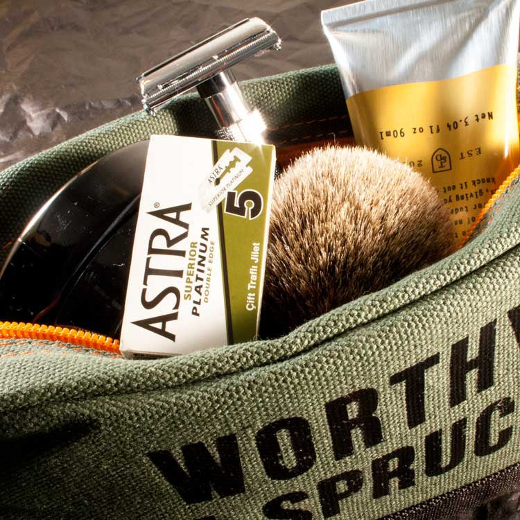 Ultimate Classic Shave Tool Kit, Shaving, Worthy & Spruce, Worthy and Spruce - 2