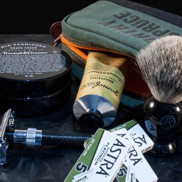 Ultimate Classic Shave Tool Kit, Shaving, Worthy & Spruce, Worthy and Spruce - 3