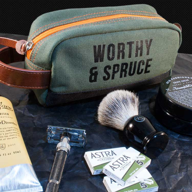 Ultimate Classic Shave Tool Kit, Shaving, Worthy & Spruce, Worthy and Spruce - 4