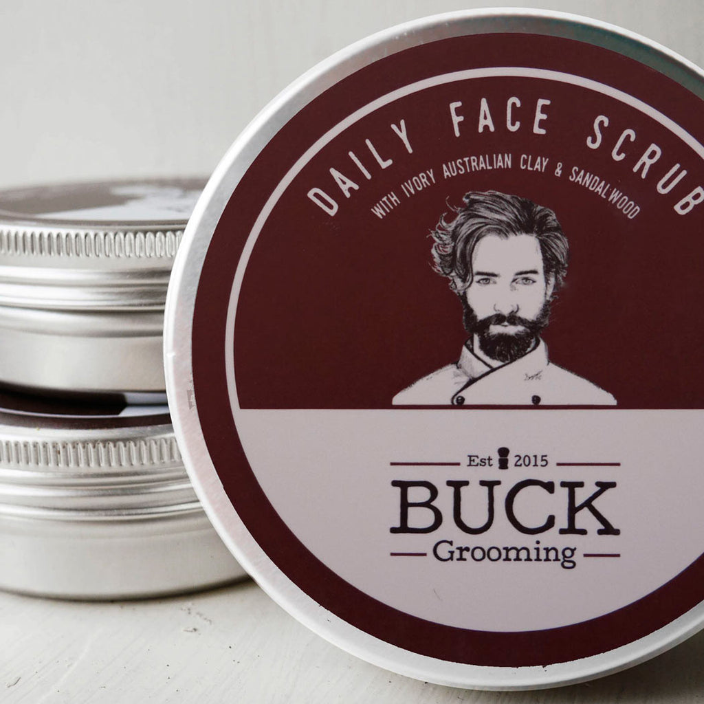 Daily Face Scrub, Cleansing, Buck Grooming, Worthy and Spruce - 6