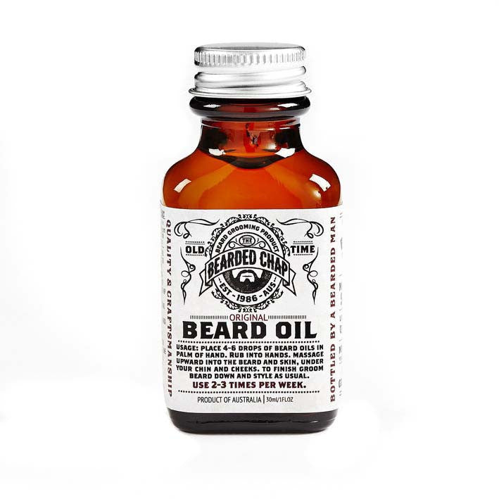 Original Beard Oil, Beard Care, The Bearded Chap, Worthy and Spruce - 1