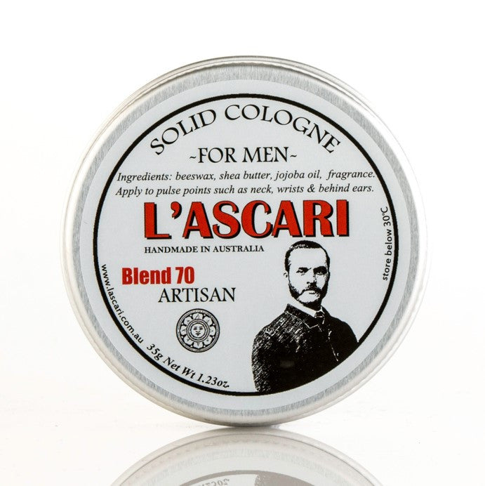 Artisan Solid Cologne, Cologne, L'Ascari, Worthy and Spruce - 1