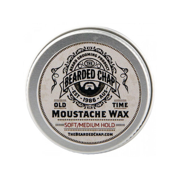 Old Time Moustache Wax, Beard Care, The Bearded Chap, Worthy and Spruce - 1