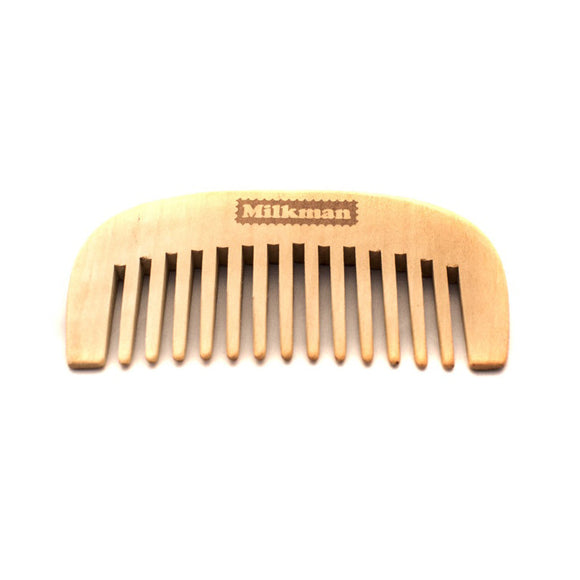 Premium Pear Wood Beard Comb, Beard Care, Milkman Australia, Worthy and Spruce