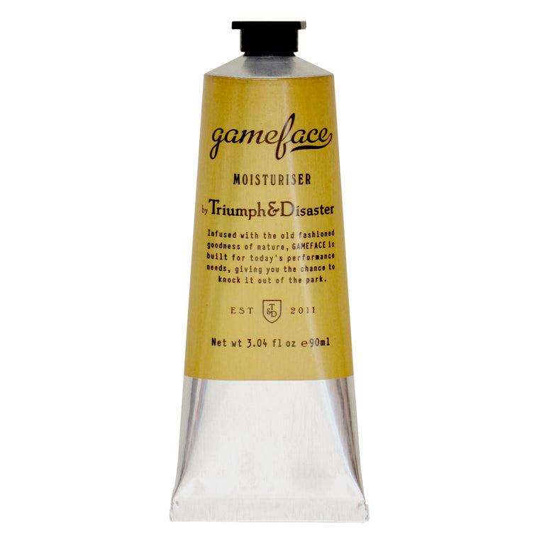 Gameface Moisturiser, Moisturising, Triumph & Disaster, Worthy and Spruce - 1