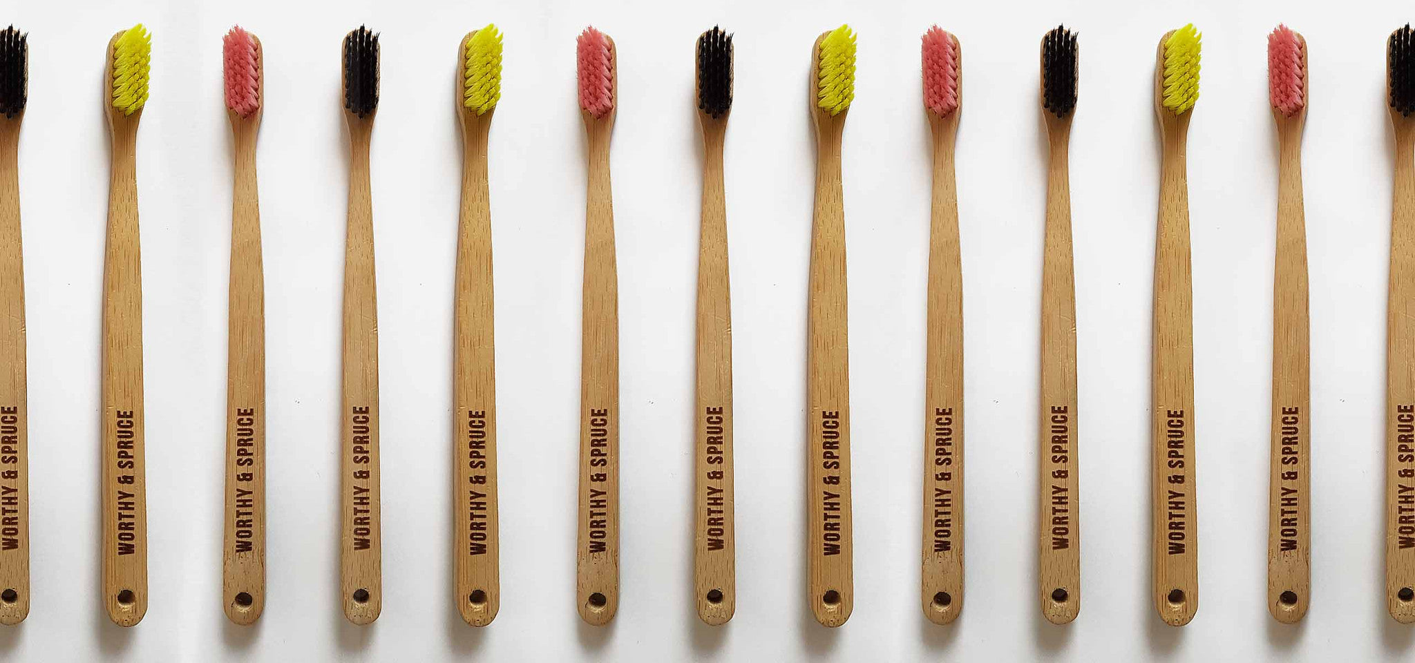 Sprucebrush Eco Toothbrush from Worthy & Spruce