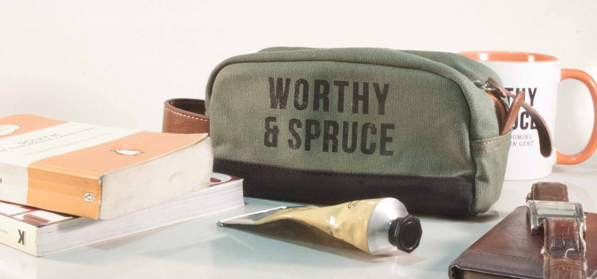 Men's Dopp Kit Toiletry Bag