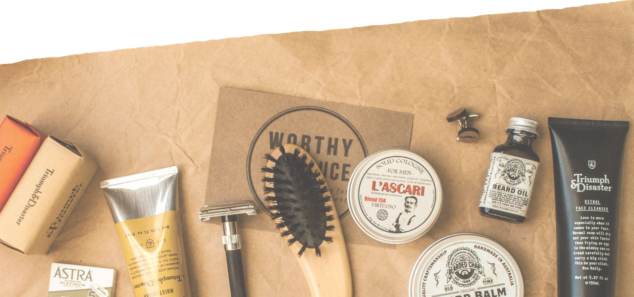 Worthy & Spruce Grooming Supplies for Men