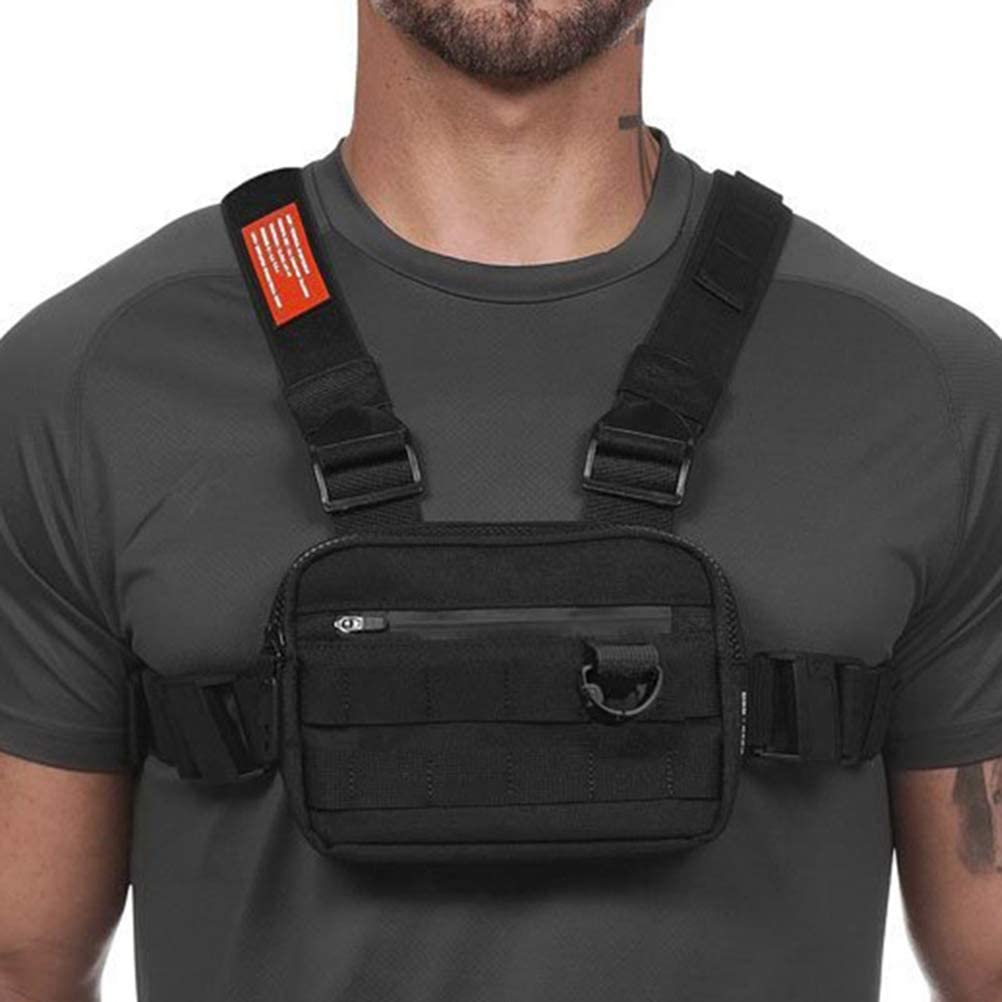 Fashionable Rig Chest Bag For Men Casual Function Outdoor And Streetwear