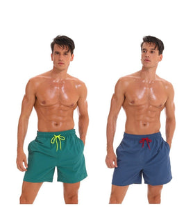 Men Swimming Shorts Trunks Beach Board Shorts Men Running Surfing Shorts