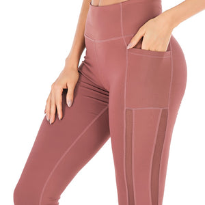 Snazzy women Compression Tights Fitness Leggings Running Yoga Pants with Pocket