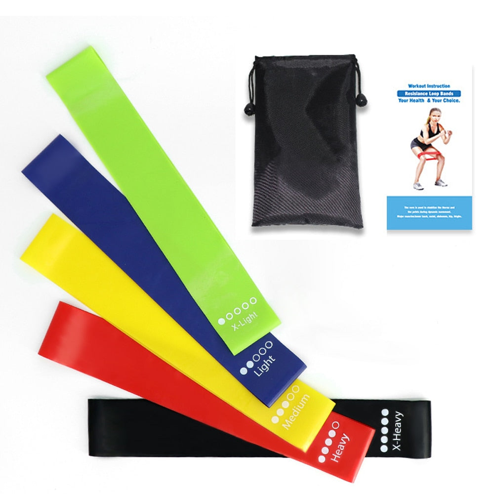 High quality resistance Bands Set, Elastic Band For Fitness and Yoga Exercise, Home Gym Rubber bands