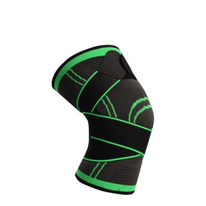 Sports  unisex Pressurized Elastic Knee Pads Knee Compression Sleeve Knee Brace