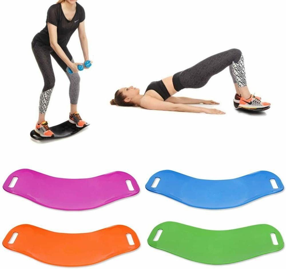 Twisting Fitness Balance Board Yoga Board Simple Core Workout For Abdominal Leg Training Self Balance Exercise Tools