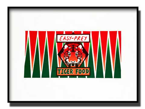 Easy-Prey Tiger Food: The Tiger Who Came to Tea