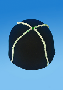 JADE BEADS WOOL HAT