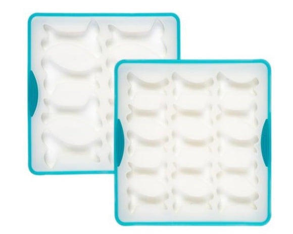 Silicone Bake and Freeze Treat Maker, 2 Sizes Of Bone Molds