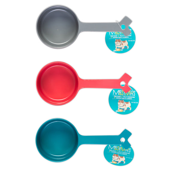Melamine Food Scoops (1 cup capacity)