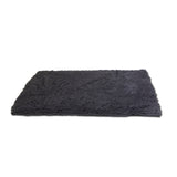 "Microfiber Drying Mat and Towel with Hand Pockets, Small, 31.5"" x 19.25"", Cool Grey"