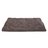 "Microfiber Drying Mat and Towel with Hand Pockets, Medium 36"" x 24"", Cool Grey"