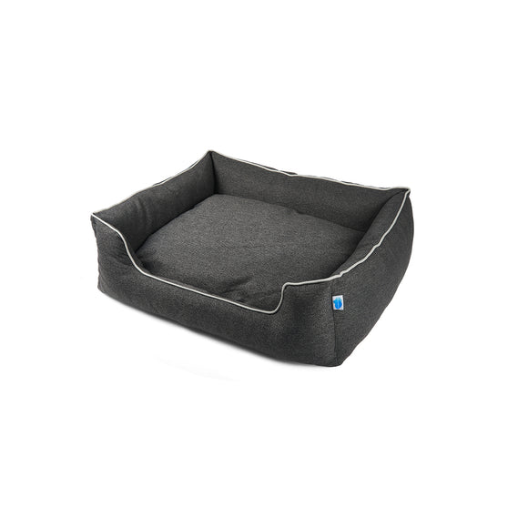 Studio Bolster Dog Bed with Probiotic Technology for Natural, Non-Toxic Odor Control