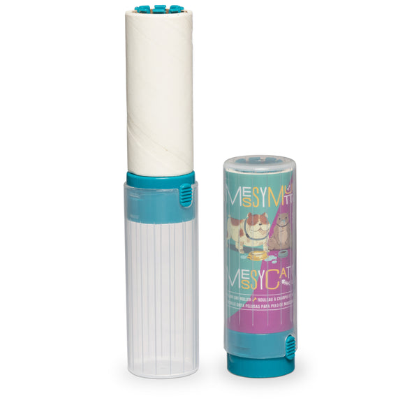 Pet Hair Lint Roller, Travel Size, 6.8
