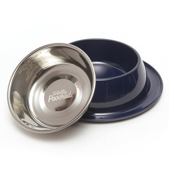 Totally Pooched Single Diner, Large, 3 Cup Bowl, 4 Colors Available