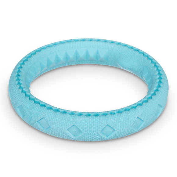 Totally Pooched Chew n' Tug Ring, Foam Rubber, 6.5