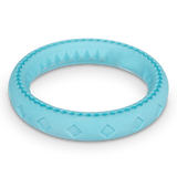 Totally Pooched Chew n' Tug Ring, Foam Rubber, 6.5""