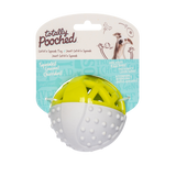 "Totally Pooched Catch n' Squeak Ball, Foam Rubber, 3.5"", 2 Colors Available"