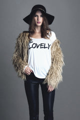 BE LOVELY TEE - LOVELY LOUISA - MeMata  - 1