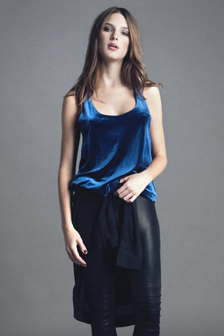 VELVET TOP - LOVELY LOUISA
