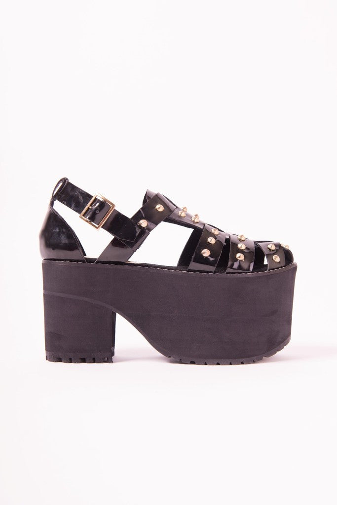 ☿ ROCK N' ROLL SANDALS ☿ - MeMata  - 3