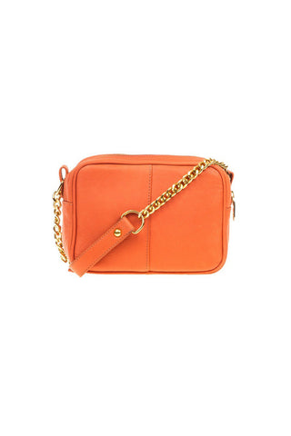 BARDOT SATCHEL - ORANGE - LAZARO