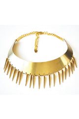 MULTISPIKE Necklace - CUATRO MUSAS - MeMata  - 1
